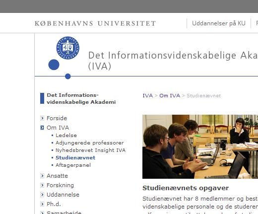 Logonavigering på ku.dk
